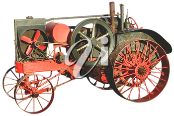 Royalty Free Photo of an Antique Tractor