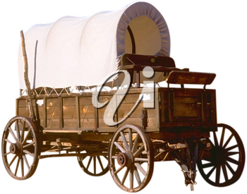 Royalty Free Photo of a Covered Wagon