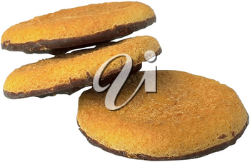 Royalty Free Photo of a Trio of Cookies