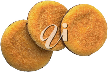 Royalty Free Photo of a Three Cookies