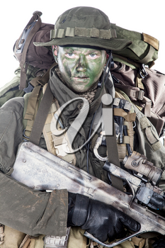 Jagdkommando soldier Austrian special forces equipped with Steyr assault rifle