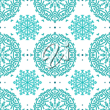 Colorful floral seamless patterns for wallpaper, pattern fills, web page background, scrapbooking, surface textures.