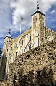 Tower of London is a historic castle located on the north bank of the River Thames in central London